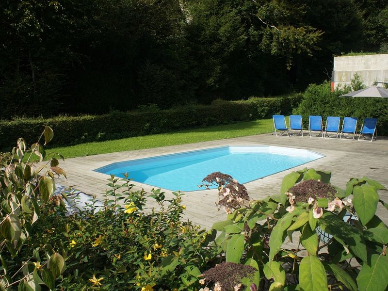 Gite for person with reduced mobility with outdoor pool, vacation rental in Chiny