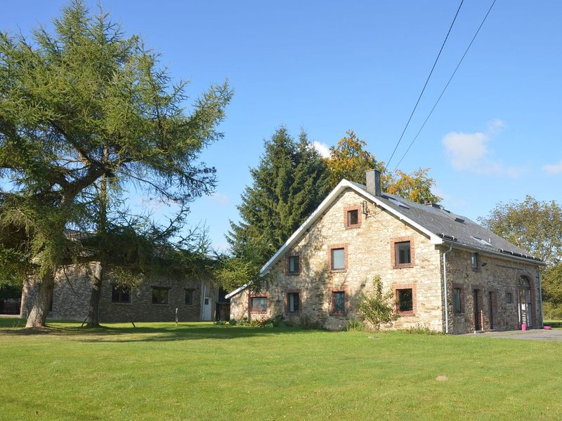 Large and cozy home on the edge of the High Fens and the crosscountry ski tracks, vacation rental in Waimes