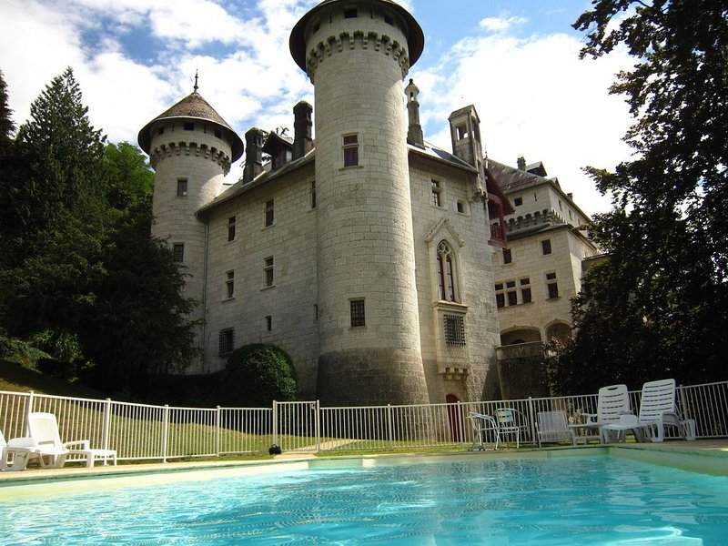 pretty castle with a magnificent view on the valley, holiday rental in Vallieres