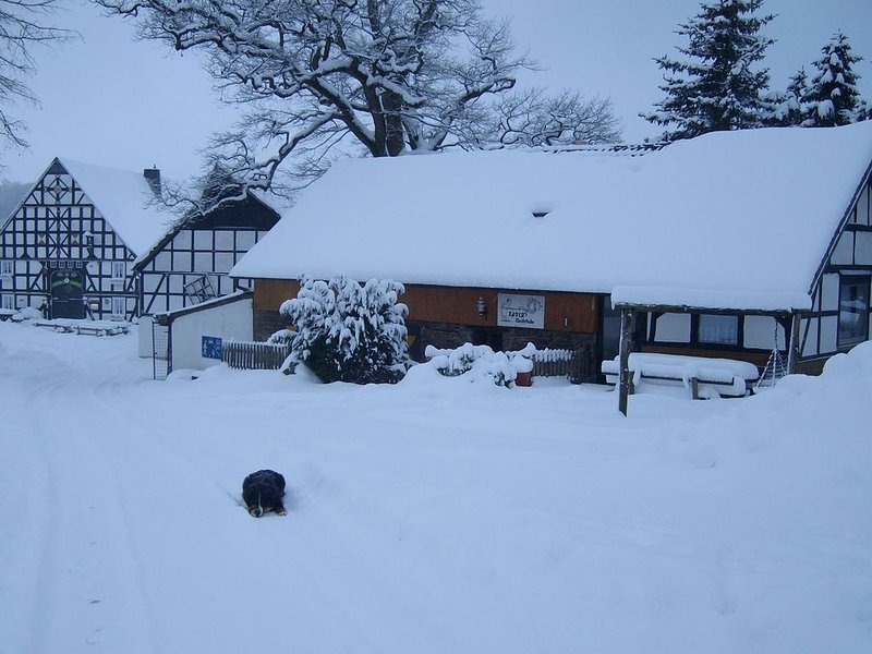 A holiday home for 10 people on a holiday farm with plenty of facilities, alquiler vacacional en Kirchrarbach