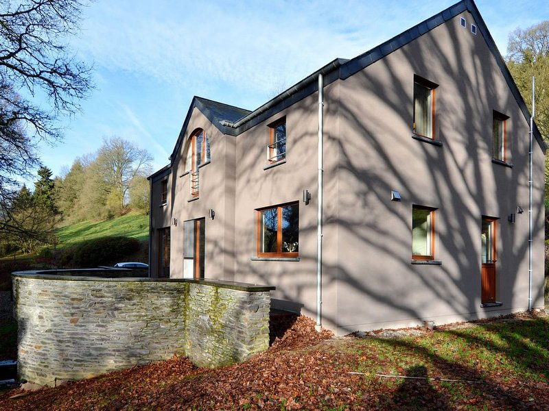 Modern Holiday Home in Salmchateau with Terrace and Garden, holiday rental in Arbrefontaine
