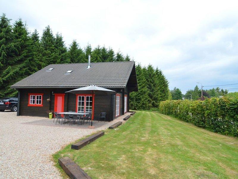 Modern Chalet with Sauna in Waimes, vacation rental in Waimes