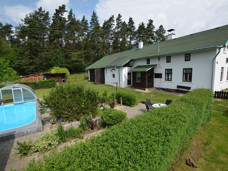 Luxury Villa near Forest in Hlavice Czech Republic, holiday rental in Mnisek
