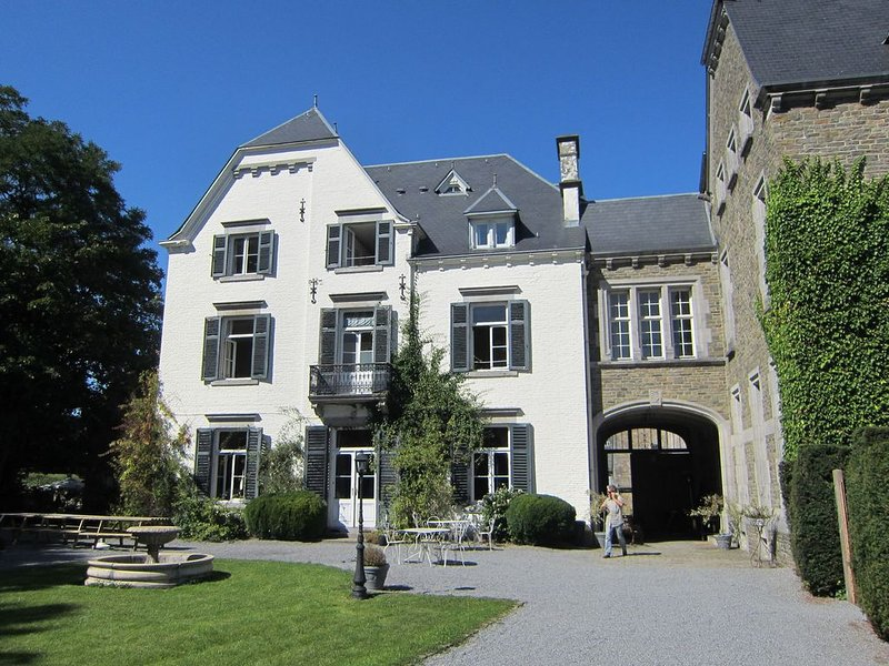 A beautiful castle in the valley of Aisne, vacation rental in Amonines