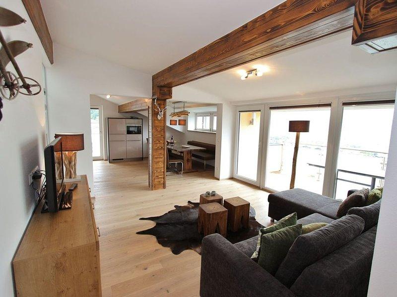 Large luxurious apartment a short distance from Zell am See - Kaprun, location de vacances à Piesendorf