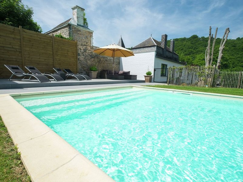 Modern Mansion in Hastière-par-Delà with Private Pool, Ferienwohnung in Dinant