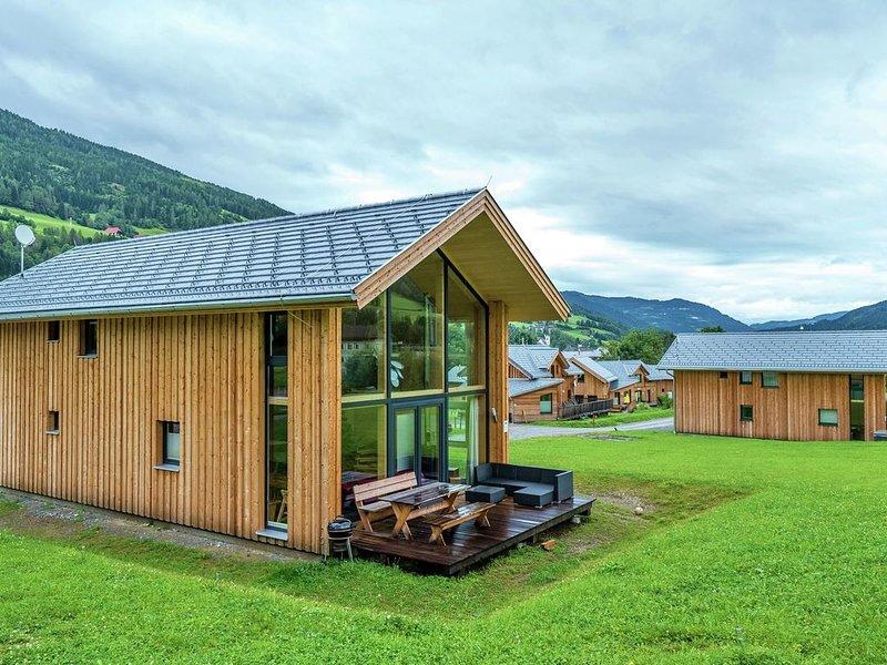 Detached panoramic luxury chalet with spa below the Kreischberg, aluguéis de temporada em Sankt Lorenzen ob Murau
