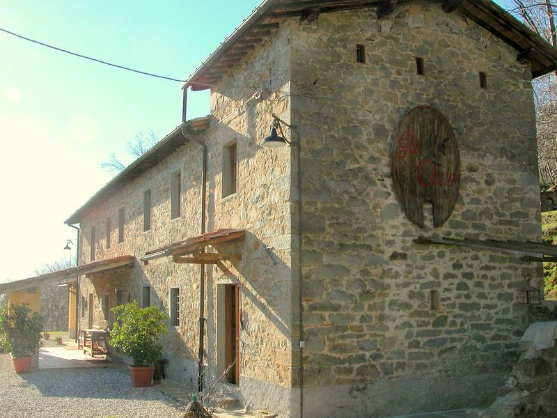 Authentic Tuscan country home situated between Pistoia and Lucca, holiday rental in Castelvecchio