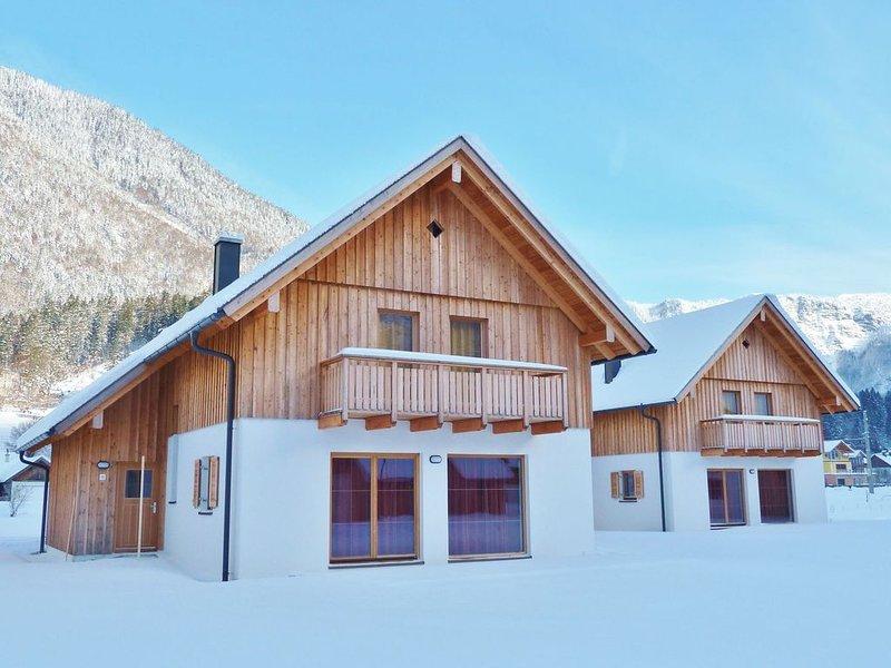 New luxury detached chalet with sauna located at the Hallstättersee in Obertraun, Ferienwohnung in Oberösterreich