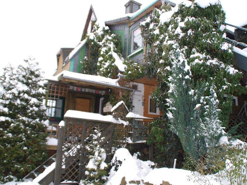 A special house, inside as well as outside very spacious: a green Villa Villaku, casa vacanza a Kustelberg