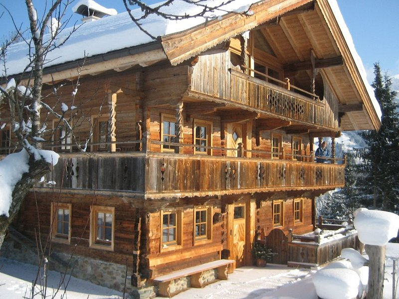 No neighbours, no traffic, and no noise. The ideal hideout in the mountains!, holiday rental in Kelchsau