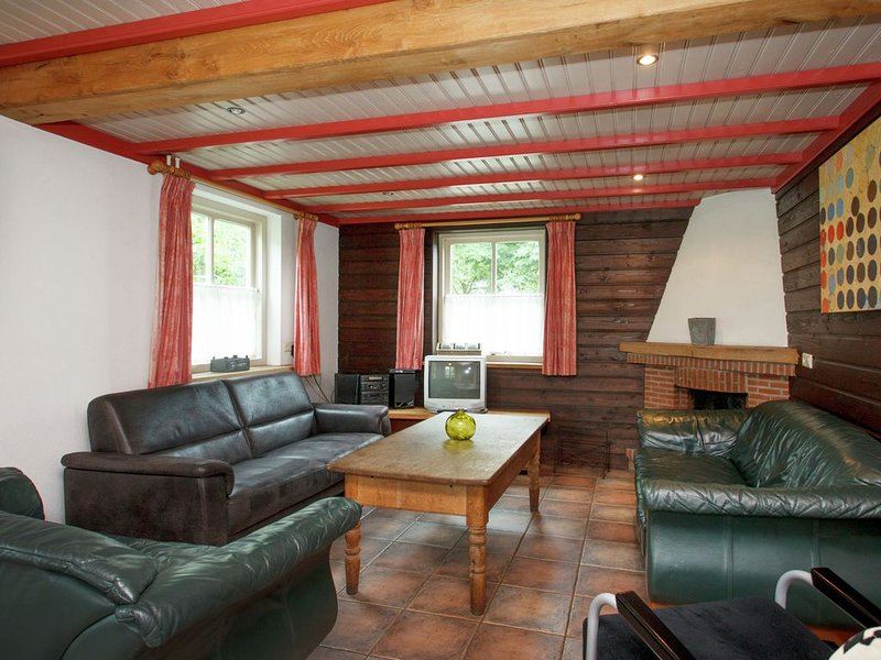 Beautiful Holiday Home in Lage Mierde with Fireplace, vacation rental in Haghorst