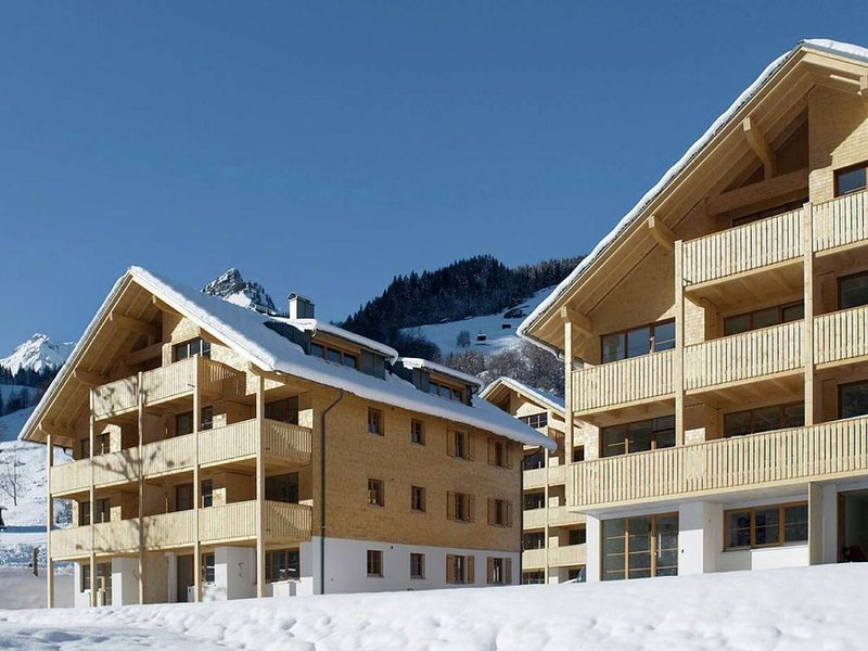 Vibrant Apartment near Ski Slopes in Brand, Ferienwohnung in Vorarlberg