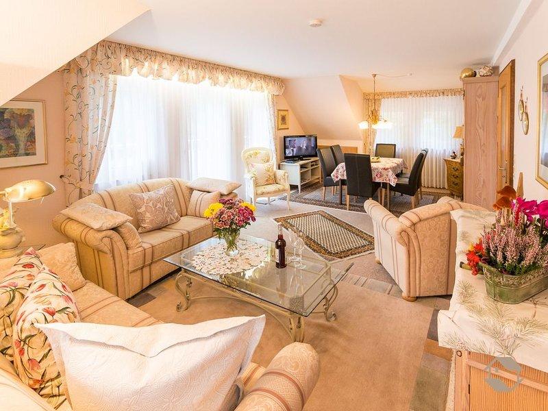 Ferienwohnung 1, mit ca. 84 qm, 2 Schlafzimmer, für max. 4 Personen, location de vacances à Enzklosterle