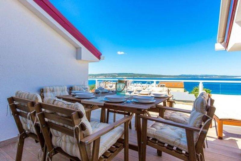Ferienwohnung Crikvenica für 4 - 7 Personen mit 3 Schlafzimmern - Ferienwohnung, vacation rental in Crikvenica
