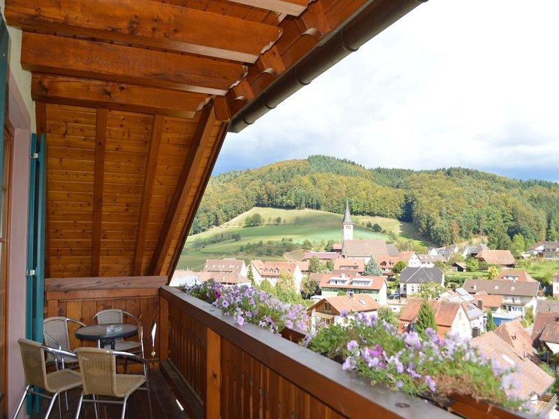Ferienwohnung 'Kapellenblick' 80qm, 2 Schlafzimmer, max. 5 Personen, location de vacances à Schweighausen