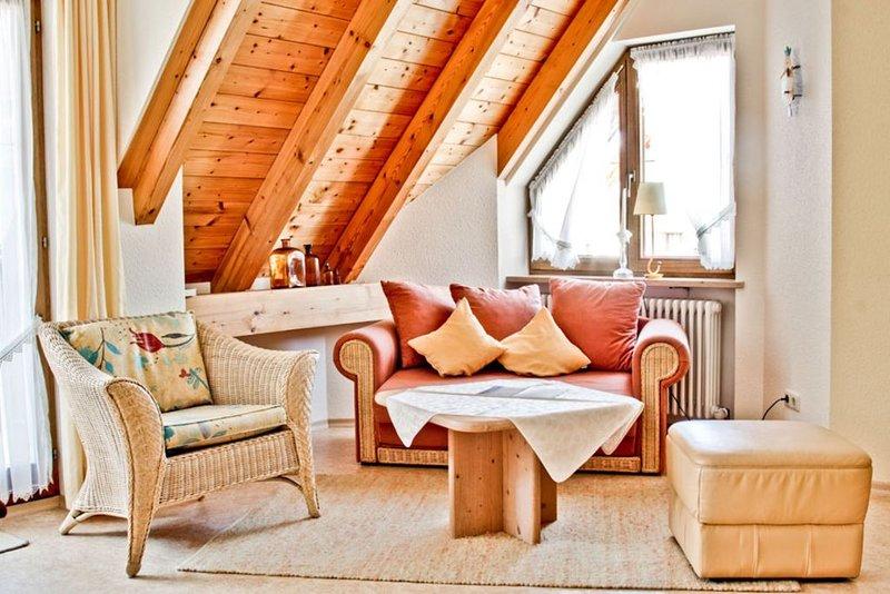 Ferienwohnung mit 28 qm, 1 Wohn-/Schlafraum für maximal 3 Personen, casa vacanza a Markdorf