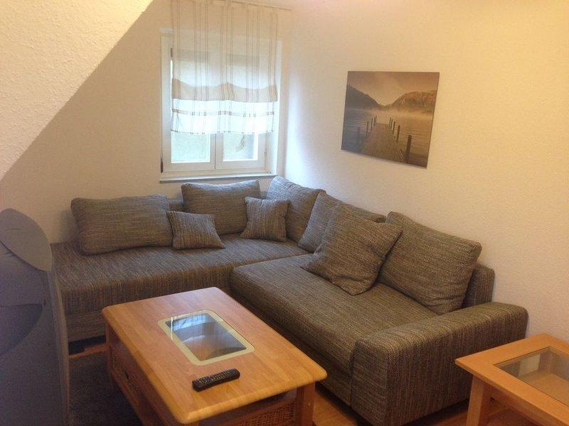 Ferienwohnung mit 60qm, 2 Schlafräume, für maximal 4 Personen, aluguéis de temporada em St. Georgen im Schwarzwald
