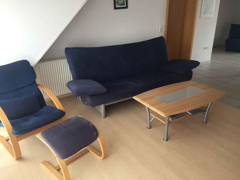 Ferienwohnung 2, 85qm, 2 Schlafzimmer, max. 6 Personen, vacation rental in Stockach