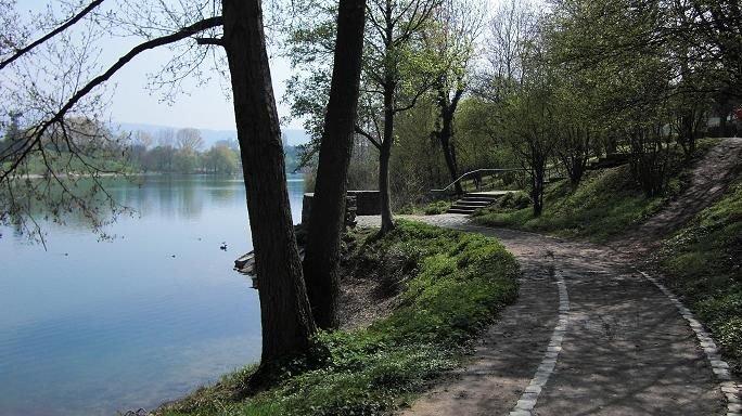 Ferienwohnung Seepark Freiburg, (Freiburg), LHS 03753-Umgebung Seepark