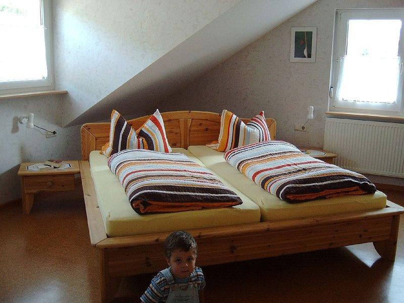 Ferieenwohnung Badbergblick 75qm, 2 Schlafräume, max. 5 Personen, holiday rental in Vogtsburg im Kaiserstuhl