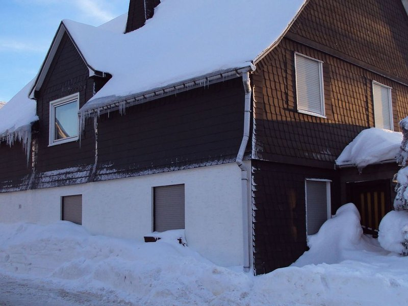 A detached, ten-person holiday home just 200 metres from the ski-lift., holiday rental in Langewiese