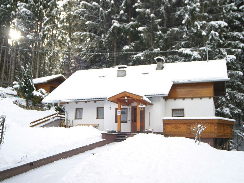 A pleasant, detached house at the edge of a wood., location de vacances à Obervellach