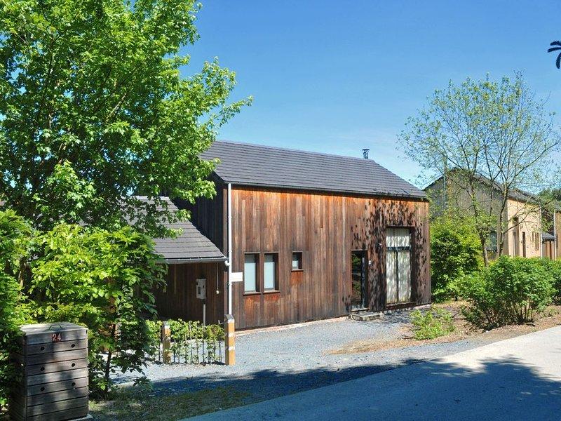 Modern house Les Jardins de l'Ourthe., holiday rental in Recogne (Bastogne)