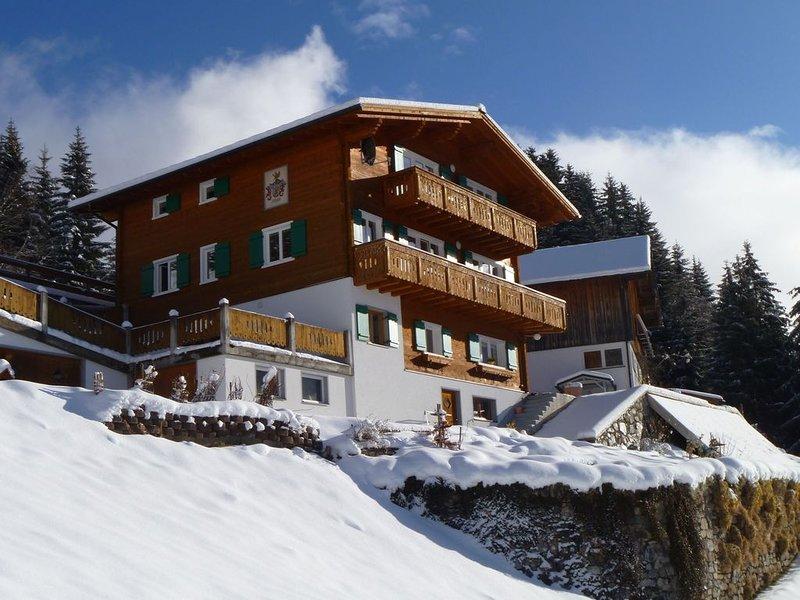 Lush Apartment in Silbertal with Garden, Ferienwohnung in Vorarlberg
