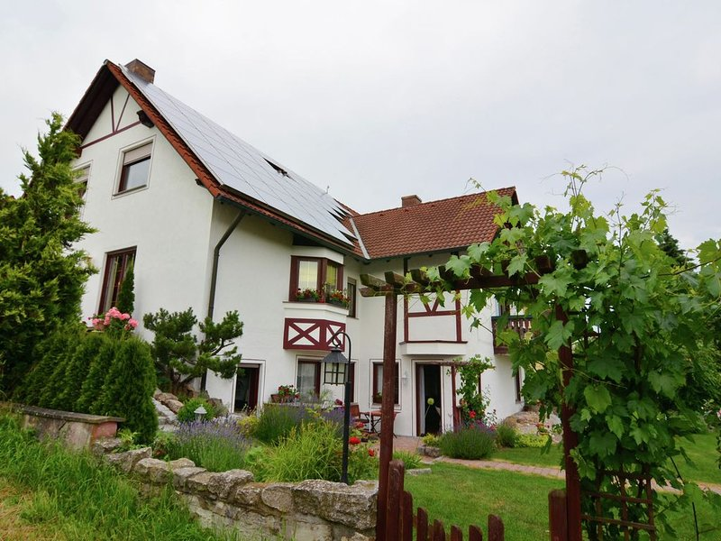 A friendly 'Grüß Gott' will welcome you to this comfortable 5-star co, vacation rental in Burgpreppach