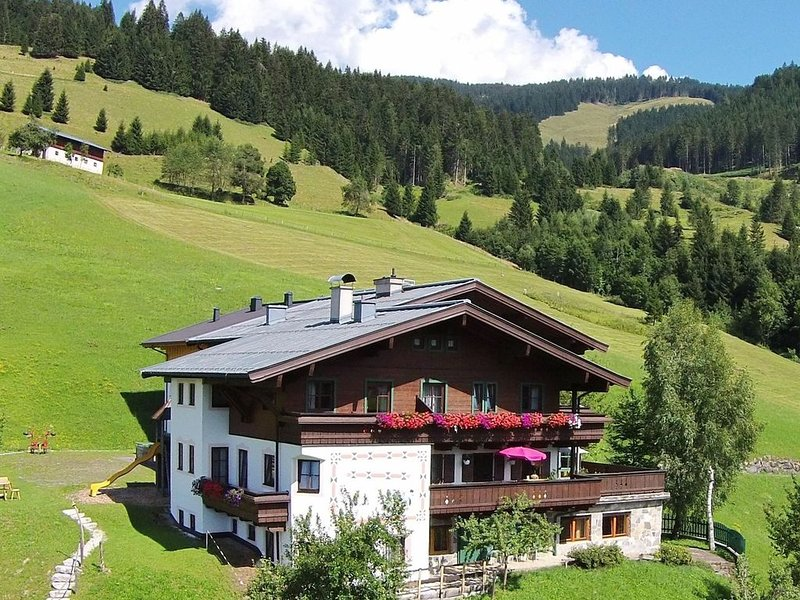 Holiday home in sunny location close to the ski lift and slope (ski in ski out), holiday rental in Maria Alm