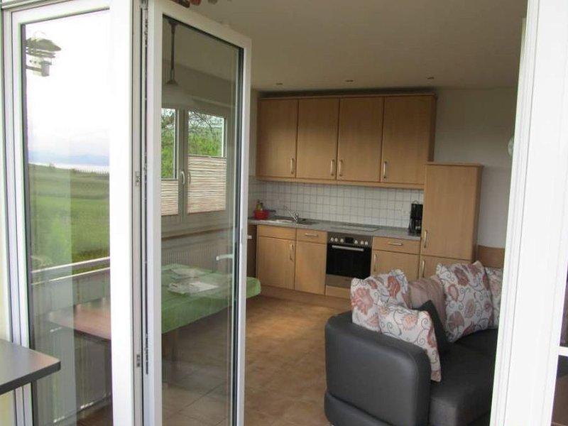 Ferienwohnung 4, 50qm, 1 Schlafzimmer, max. 2 Personen, holiday rental in Wasserburg