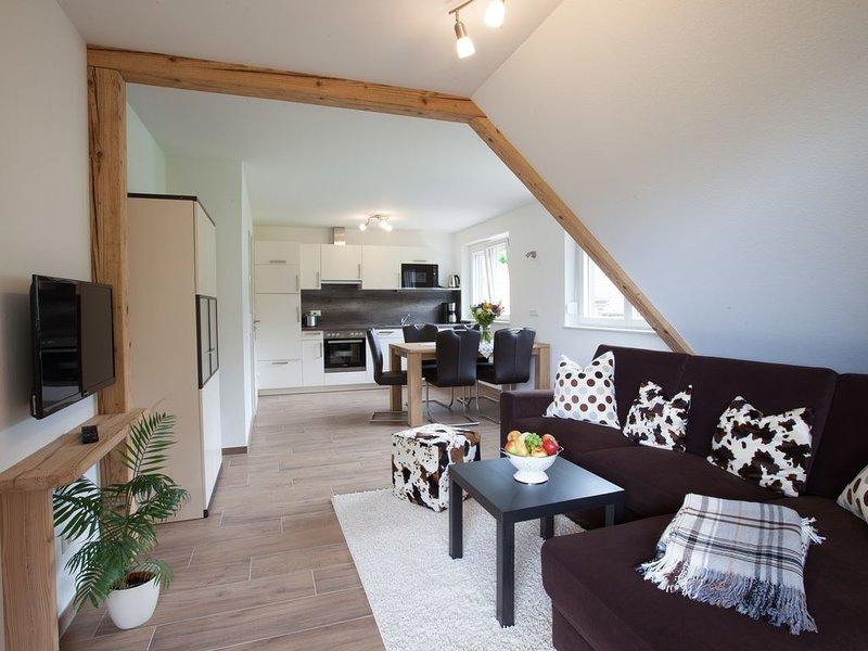 Ferienwohnung Heuboden, 60qm,  2 Schlafzimmer, max. 4 Personen, location de vacances à Schweighausen