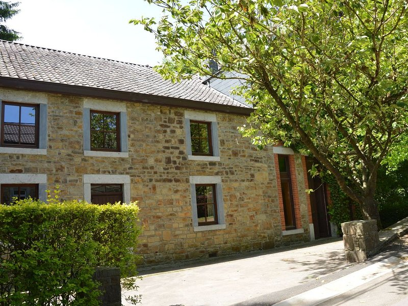 This plain house is very suitable for groups, aluguéis de temporada em Grand Bru