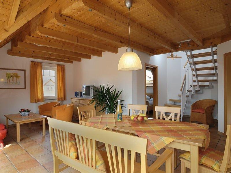 Ferienwohnung Typ D 5 mit 90qm, 3 Schlafräume für maximal 6 Personen, casa vacanza a Markdorf