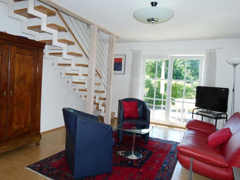 Ferienwohnung B2, 60qm, 1 Schlafzimmer, 1 Wohn-/Schlafbereich, max. 2 Personen, location de vacances à Grasbeuren