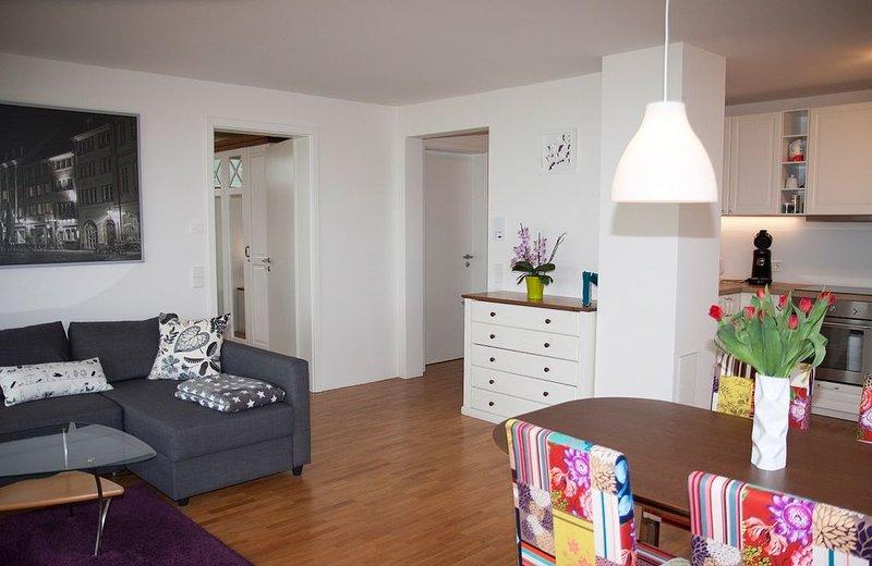 """Appartement """"Mariposa"""" avec 70m², 1 chambre à coucher, max. Salon 2 personnes"""