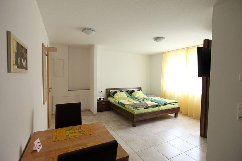 Apartment 2, 28 qm, 1 Wohn-/Schlafzimmer, max. 2 Personen, vacation rental in Hayingen