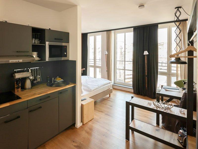 1-Zimmerferienwohnung 'Zwingerblick S' mit ca. 25qm, 1 Wohn-/Schlafraum, für ma, location de vacances à Dresde