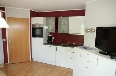 Neue Küche mit Spülmaschine, Backofen mit Grill und Umluft