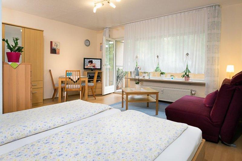 Ferienwohnung mit ca. 35qm, 1 Wohn-/Schlafraum, für maximal 2 Personen, alquiler vacacional en Buggingen
