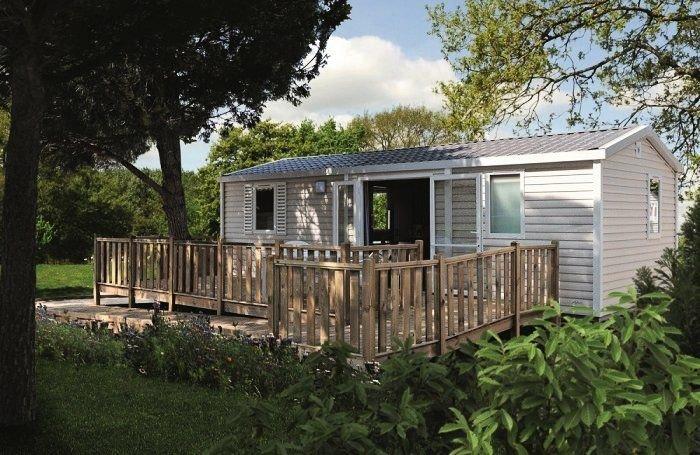 Camping Les Genêts**** - Mobil Home 3 Pièces 4 Personnes PMR, location de vacances à Saint-Jean-Trolimon