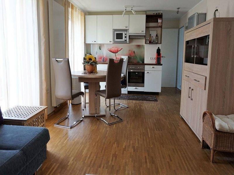 Ferienwohnung 55qm, 1 Wohn-/Schlafzimmer, max. 2 Personen, location de vacances à Friedrichshafen