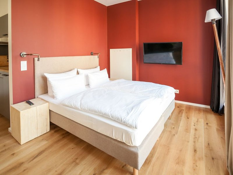 Suite XS, 27sqm, 1 living room / bedroom, max. 2 person sleeping area