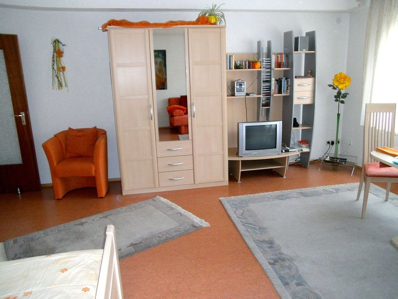Ferienwohnung 45qm, 1 Wohn-/Schlafraum, max. 2 Personen, aluguéis de temporada em Kirchzarten