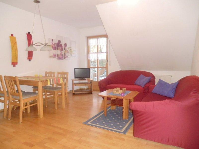 Ferienwohnung 3 mit ca. 55qm, 2 Schlafzimmer, für max. 4 Personen, location de vacances à Waldthurn