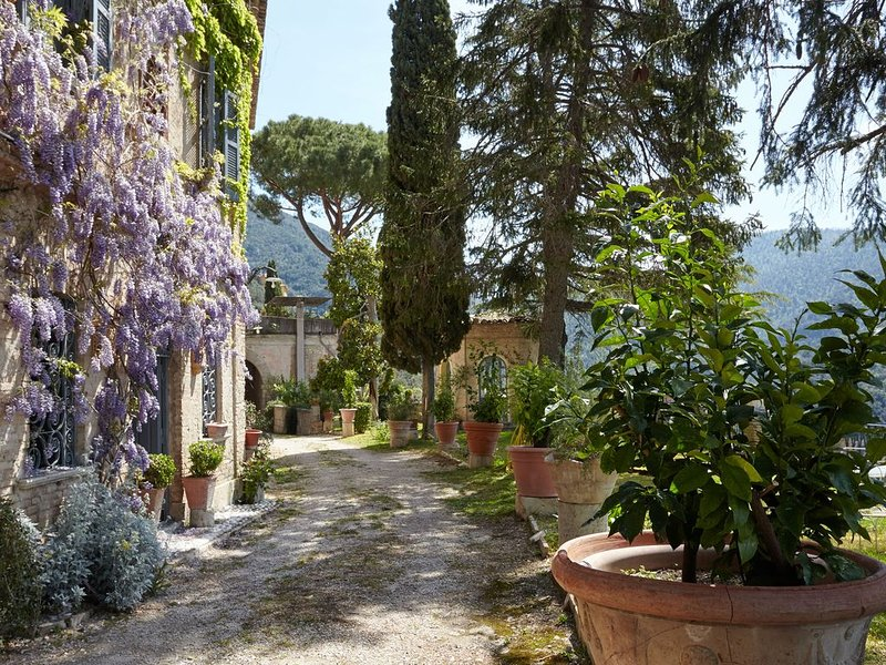 Stunning Property In A Private XVII Century Borgo with Pool and Pool-House., vacation rental in Province of Rieti