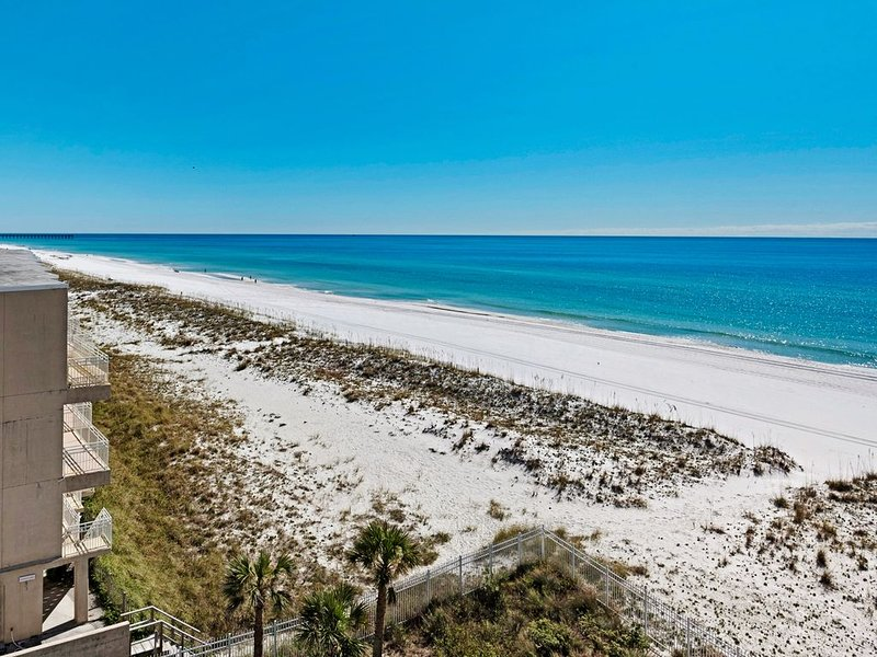 Sans Souci Gulfside two-bedroom, 4th floor condo, holiday rental in Pensacola Beach