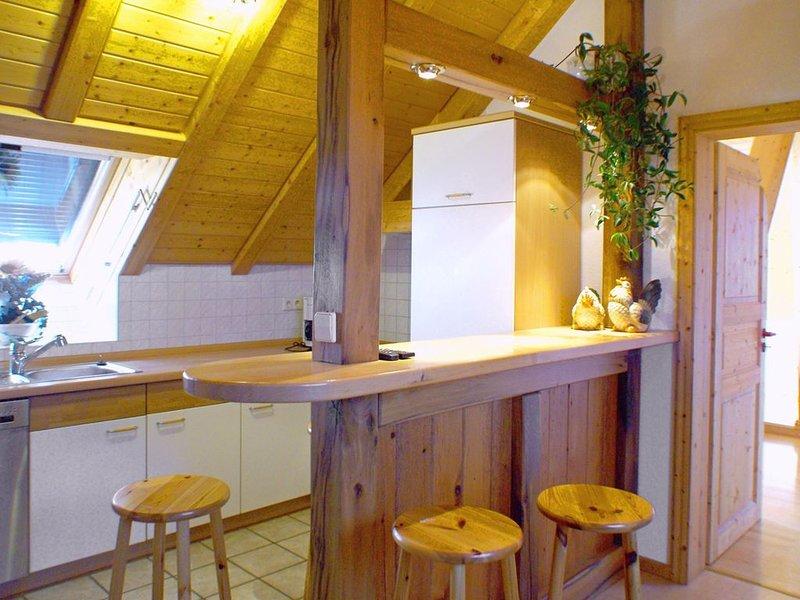 Ferienwohnung DG mit ca. 45 qm, 1 Schlafzimmer, für maximal 2 Personen, vacation rental in Endingen