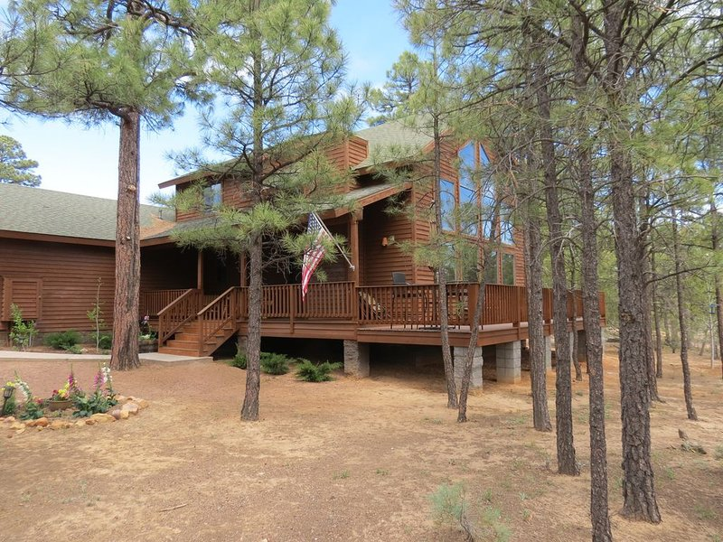 Beautiful Cabin in the White Mountains - Torreon Resort in Show Low, holiday rental in Show Low